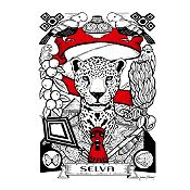 Canvas Selva 40x30cm