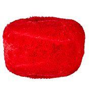 Puff Infantil 55x25cm Rojo