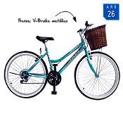Bicicleta Atenea Aro 26'' Verde