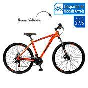 Bicicleta de Hombre Lance Aro 27.5'' Naranja/Negro