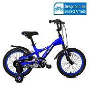 Bicicleta Beno Aro 12'' Azul/Negro