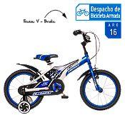 Bicicleta Jet azul Aro 16''