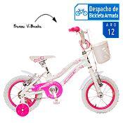 Bicicleta Miami blanco Aro 12''