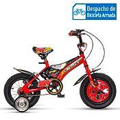 Bicicleta Jet rojo Aro 12''