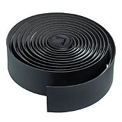 Cinta De Manubrio Pro microfibra negra 200 x 30 x 2.5 mm