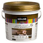 Látex Semibrillo Blanco 4L