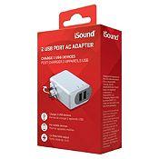 Adaptador USB ISound-6768 3.4A Blanco