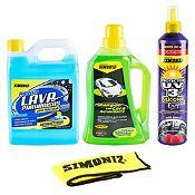 Pack de Limpieza Silicona + Shampoo + Lavaparabrisas