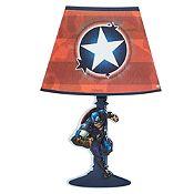 Lámpara Sticker Clap Capitán América