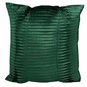 Cojín Jaipur Pliegues 45x45cm Verde