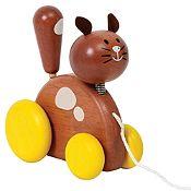 Mascota de jalar gato
