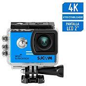 Cámara de Acción SJ5000X Elite 4K Gyro Sensor Azul + accesorios