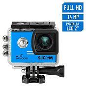 Cámara de Acción SJ5000 Wifi Full HD 1080/30FPS Azul + accesorios