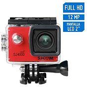 Cámara de Acción SJ4000 Wifi Full HD 1080/30FPS Rojo + accesorios