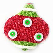 Esfera 12cm cebolla Noel
