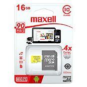 Tarjeta de Memoria Micro SD 16GB Negro