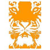 Vinilo Tigre Naranja