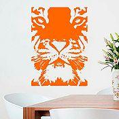 Vinilo Tigre Naranja 68x100cm