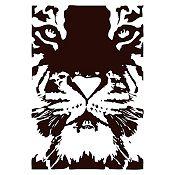 Vinilo Tigre Negro 55x80cm