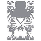 Vinilo Tigre Plata 55x80cm