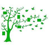 Vinilo Árbol de fotos Verde 184x140cm