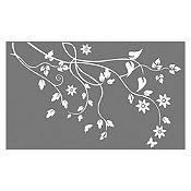 Vinilo Árbol de almendro Blanco