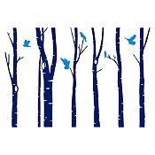 Vinilo Otoño Azul oscuro, azul claro 263x180cm