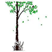 Vinilo Naturaleza Verde claro, negro
