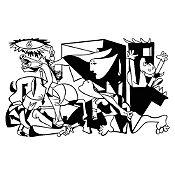 Vinilo Guernica Negro