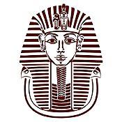 Vinilo Máscara Tutankamón Marrón 87x120cm