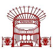 Vinilo Metro París Vinotinto 100x82cm