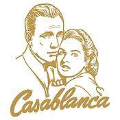 Vinilo Casablanca Dorado 85x96cm