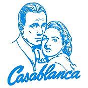 Vinilo Casablanca Azul Claro 70x79cm