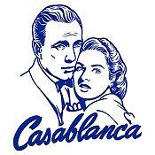 Vinilo Casablanca Azul Oscuro 85x96cm