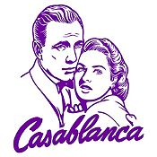Vinilo Casablanca Morado 70x79cm