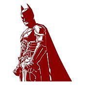 Vinilo Batman Vinotinto 83x110cm