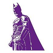 Vinilo Batman Morado 72x95cm