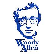 Vinilo Woody Allen Azul medio 68x120cm