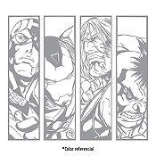 Vinilo Avengers Plata 100x90cm