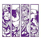 Vinilo Avengers Morado 120x106cm
