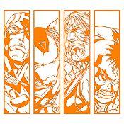 Vinilo Avengers Naranja 120x106cm