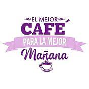 Vinilo El Mejor Café Violeta, Lila Medida G