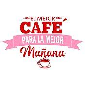 Vinilo El Mejor Café Vinotinto, Rosado Medida G