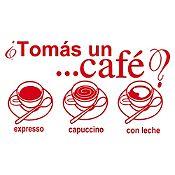 Vinilo Tomate Un Café Rojo Medida G