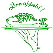 Vinilo Bon Appetit Verde Claro Medida P