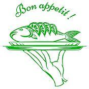 Vinilo Bon Appetit Verde Claro Medida M