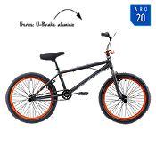Bicicleta Hombre Spine Negro/Naranja Aro 20
