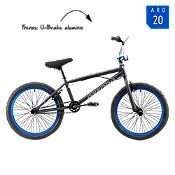 Bicicleta Hombre Spine Negro/AzulAro 20