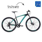 Bicicleta Hombre M Merak 1 Negro/Verde Aro 27.5