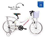 Bicicleta Mujer paracas Blanco Aro 20